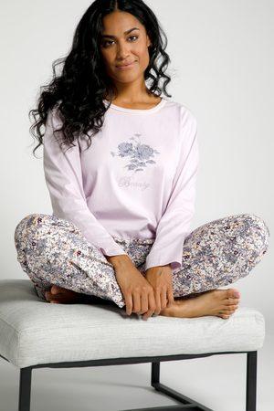 Ulla Popken Pyjama, Damen, lila