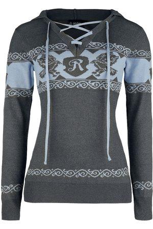 Harry Potter Damen Sweatshirts - Ravenclaw Kapuzenpullover /