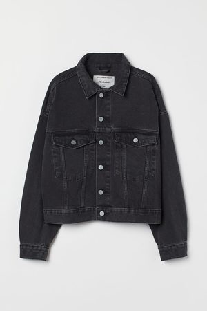 H & M Oversized Jeansjacke