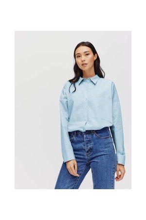 Promod Damen Blusen - Bluse im Cropped-Design