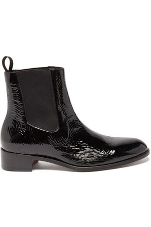 Tom Ford Patent-leather Chelsea Boots