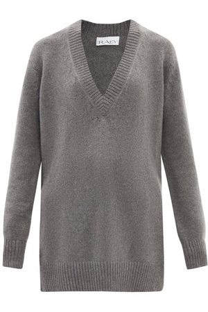 Raey Recycled-cashmere Deep V-neck Sweater