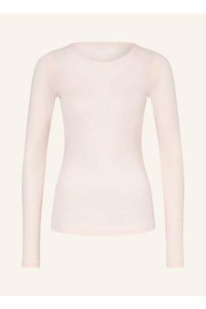 Sloggi Damen Schlafanzüge - Taillierter Schnitt. Rundhalsausschnitt. Lange Ärmel