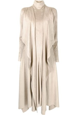 GOEN.J Damen Freizeitkleider - Kleid aus Faux-Wildleder