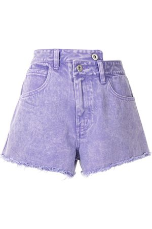 Ground Zero Damen Shorts - Shorts mit Stone-Wash-Effekt