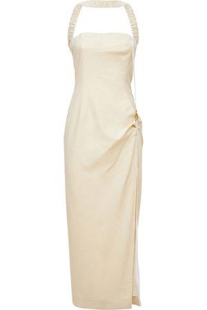 JACQUEMUS La Robe Ventoux Viscose Blend Midi Dress