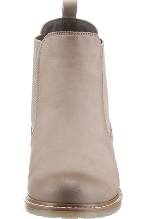 Tamaris Chelseaboots in taupe-used von