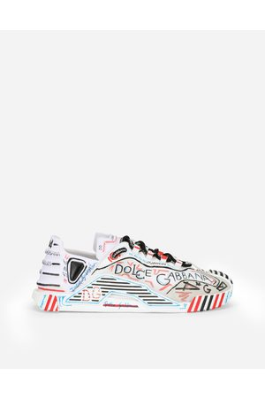 Dolce & Gabbana Damen Sneakers - Slip-on-sneakers ns1 aus materialmix los angeles female 35