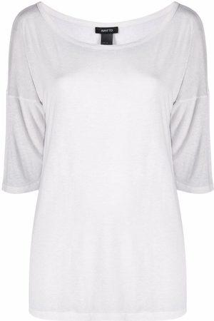 AVANT TOI Oversized-Sweatshirt mit Raglanärmeln
