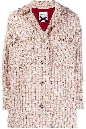 Edward Achour Paris Damen Sommerjacken - Oversized-Hemdjacke