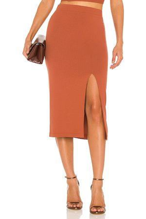krisa Damen Röcke - X REVOLVE Bodycon Slit Skirt in . Size M, S, XS.