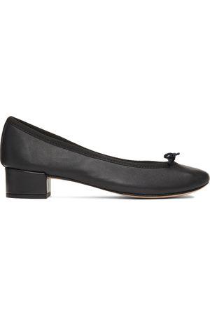 Repetto Black Camille Ballerina Heels
