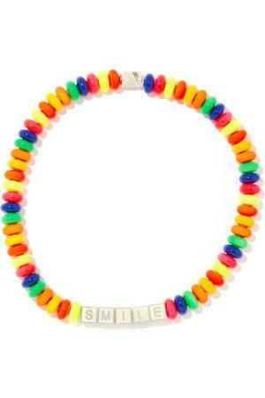 Lauren Rubinski Smile Beaded & 14kt White Necklace