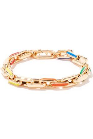 Lauren Rubinski Enamel & 14kt Link-chain Bracelet