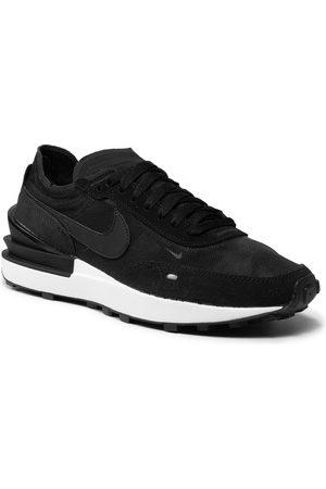 Nike Herren Schuhe - Waffle One DA7995 001 Black/Black/White/Orange