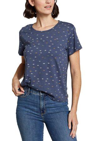 Eddie Bauer Damen T-Shirts, Polos & Longsleeves - Myriad Shirt - bedruckt Damen Gr. XS