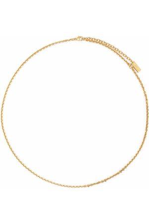 Saint Laurent Cable-chain necklace
