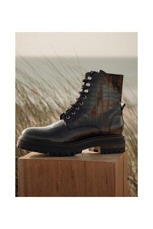 Promod Boots in Kroko-Optik