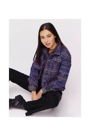 Promod Damen Blazer & Sakkos - Jacke aus Jacquardstoff
