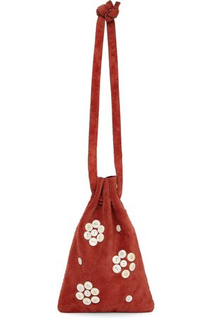 BODE Pearly Flower Cinched Bag