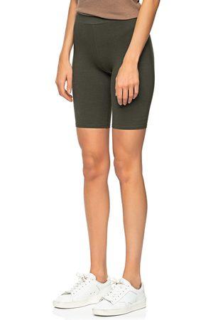 MICHAEL STARS Damen Shorts - Billy Biker Tarragon Olive