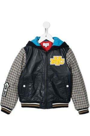 The Marc Jacobs NYC logo patch bomber jacket