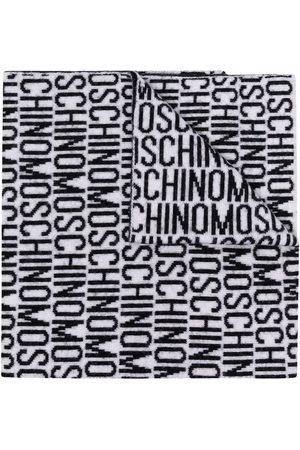 Moschino Schal mit Logo-Print