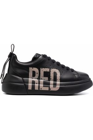 RED(V) Sneakers mit Logo-Print