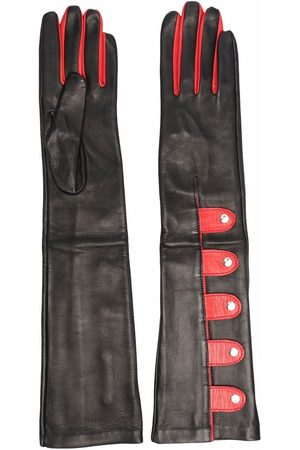 Manokhi Zweifarbige Handschuhe