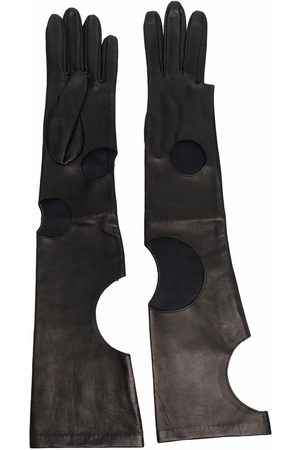 Manokhi Handschuhe mit Cut-Outs