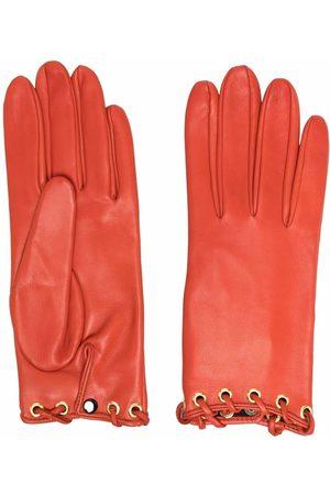 Manokhi Handschuhe mit Ösen