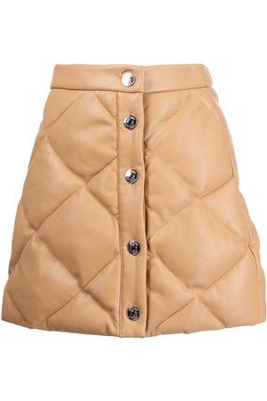 Staud Damen Miniröcke - Dice quilted miniskirt
