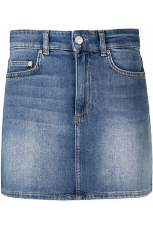 Chiara Ferragni Damen Miniröcke - Eye Star Jeans-Minirock