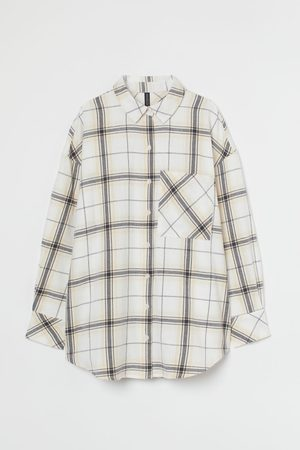H&M Oversized Flanellbluse