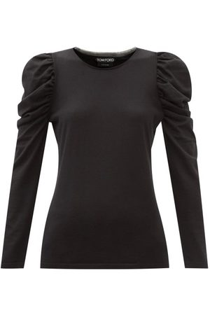 Tom Ford Gigot-sleeve Cashmere-blend Sweater