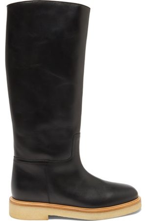 LEGRES 30 Leather Knee-high Boots