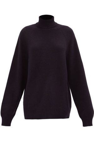 Raey Recycled-cashmere Blend Roll-neck Sweater