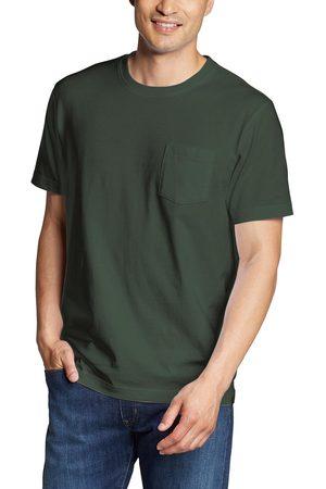 Eddie Bauer Herren T-Shirts - Legend Wash Pro Shirt - Kurzarm mit Tasche Herren Gr. S