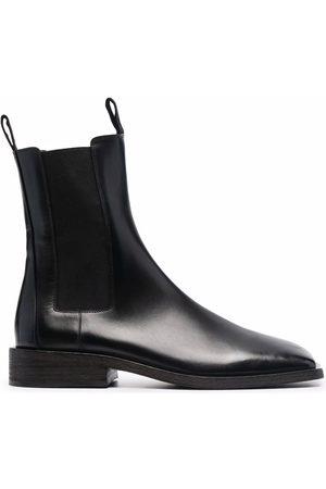 MARSÈLL Herren Chelsea Boots - Chelsea-Boots mit eckiger Kappe
