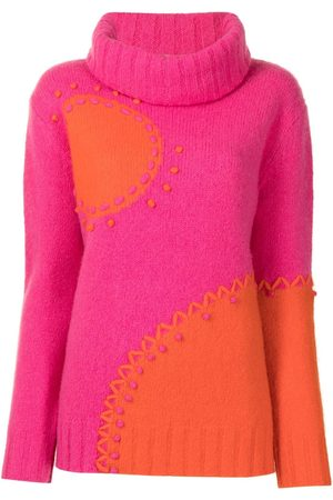 Onefifteen Pullover in Colour-Block-Optik