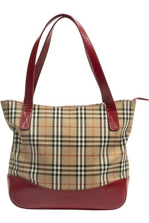 Burberry Pre-owned Square Zip Tote , Damen, Größe: One size