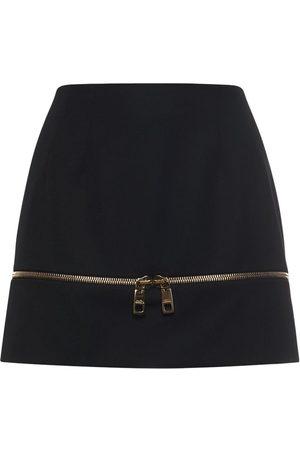 Dolce & Gabbana Minirock Aus Wolle Mit Reissverschluss