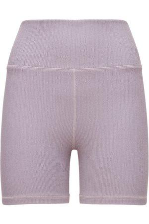 The Upside Damen Shorts - Jacquard Mini Spin Shorts