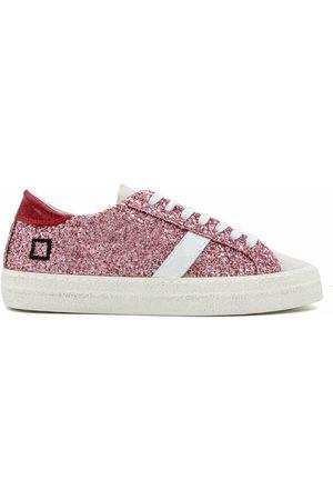 D.A.T.E. Damen Sneakers - Sneakers W341-Hl-Gl-Pk Hill LO Pink, Damen, Größe: 38
