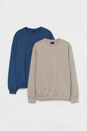H&M 2-Pack Sweatshirts Relaxed Fit