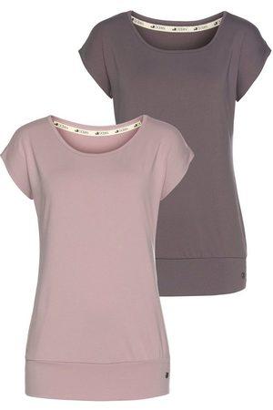Ocean Yoga & Relax Shirt »Soulwear - Essentials Yoga Shirts« (Packung, 2er-Pack)