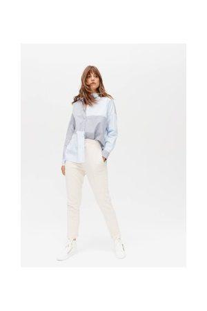 Promod Damen Lange Sporthosen - Unifarbene Jogpants
