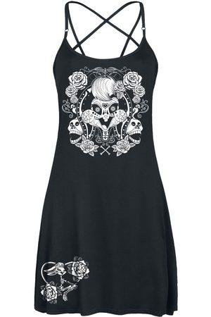 LOONEY TUNES Dias De Muertos Mittellanges Kleid