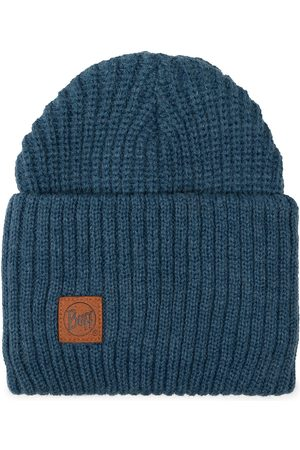 Buff Knitted Hat 117845.701.10.00 Steelblue