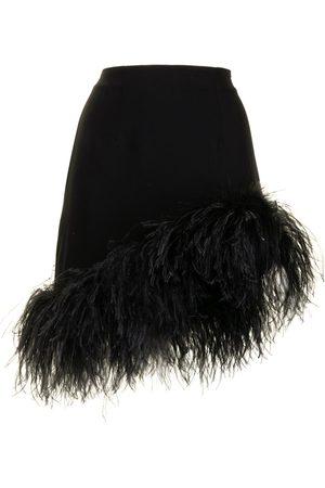 16Arlington Damen Miniröcke - Minirock mit Federn